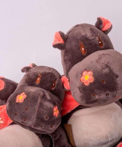 Hipopotamo grande y pequeño dos tamaños DeColores Natur