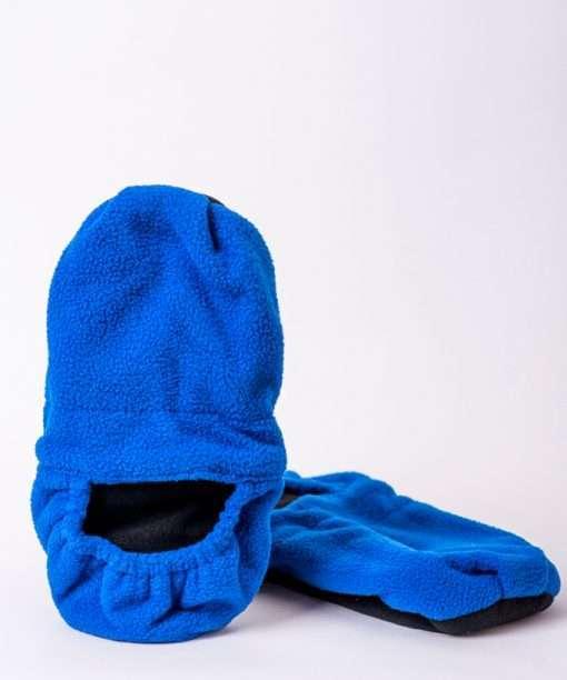 Zapatillas termicas azul