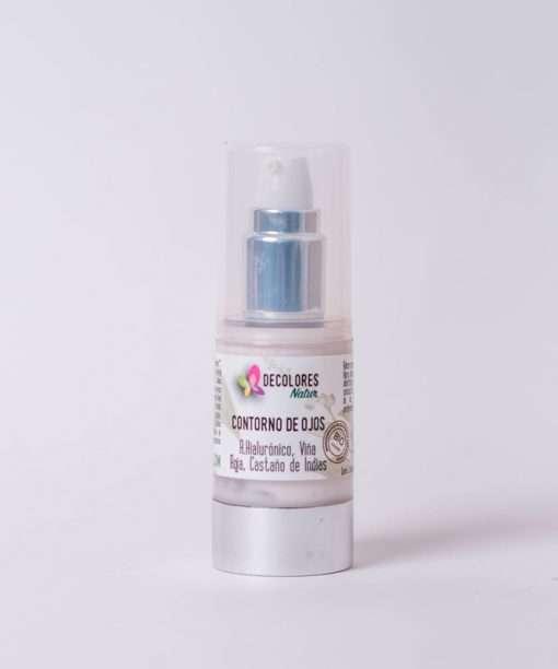 Contorno de ojos natural con ácido hialurónico y potentes bioactivos